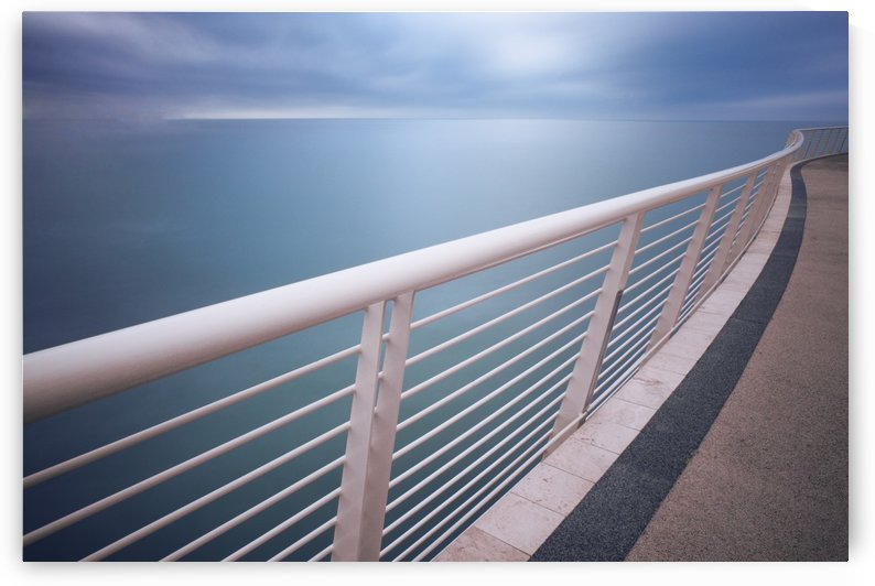 Handrail Above Sea by 1x