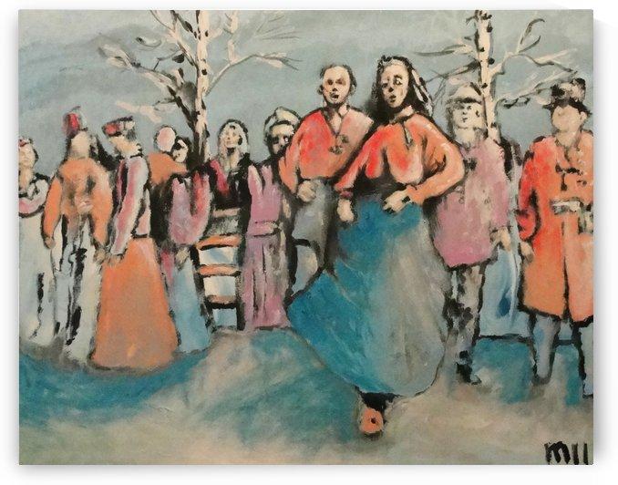 Folkdance by Mikki KV Nylund