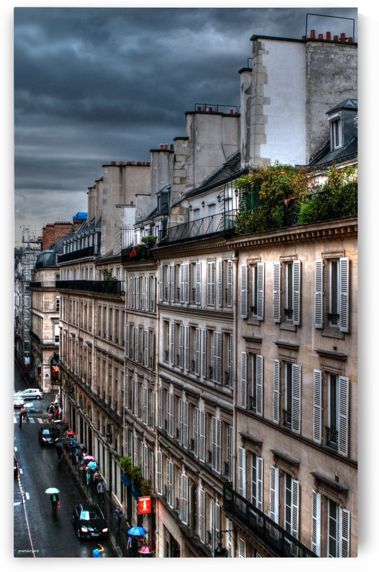 autumn rain paris france tom prendergast by tom Prendergast