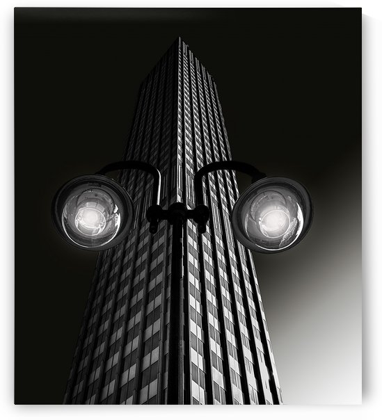 Skyscraper with glasses by 1x