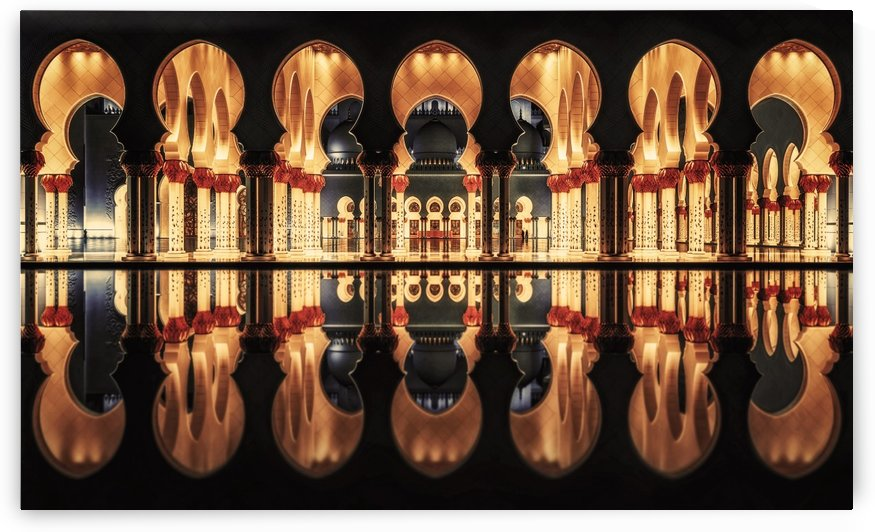 Reflections in the Mosque by 1x