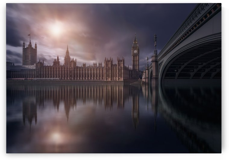House of Parliament by 1x