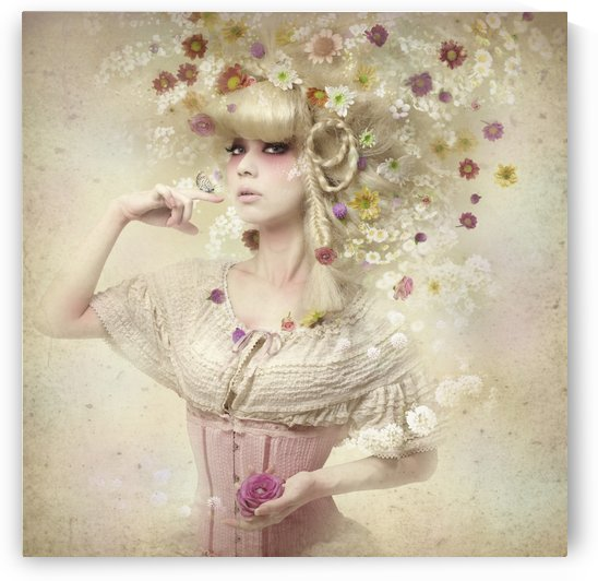 Girl of the flower garden by 1x