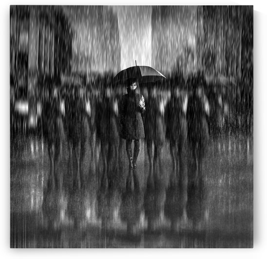 Girls in the Rain by 1x