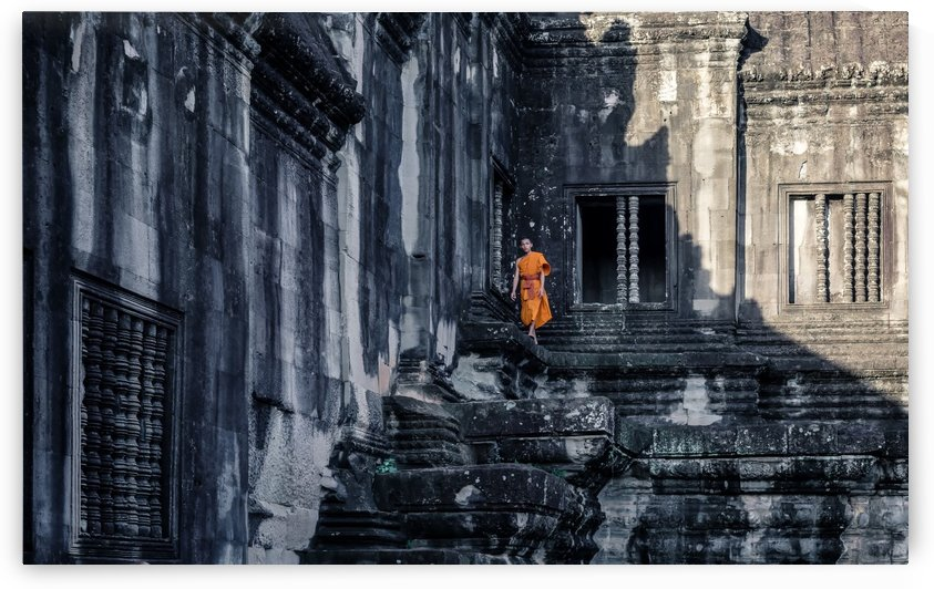 The young monk by 1x