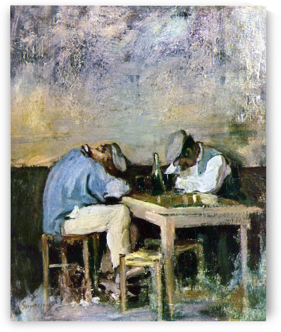 of Two Drunks by Grigorescu by Grigorescu