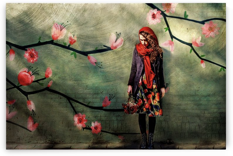 flower girl by 1x