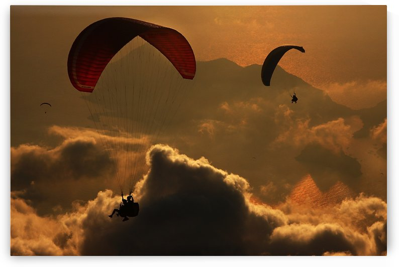 Paragliding by 1x