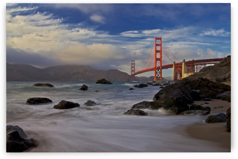 Golden Gate Bridge by 1x