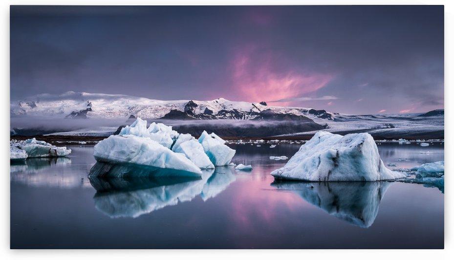 The Glacier Lagoon by 1x