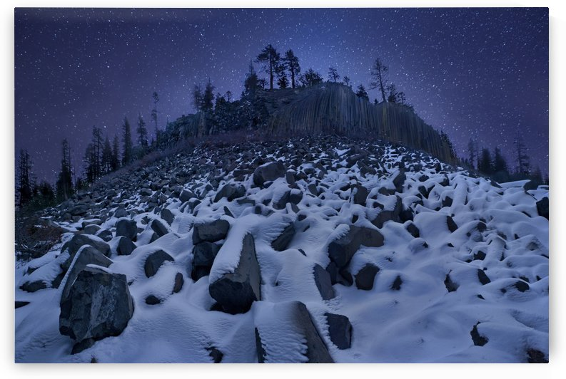 Cold Mountain: Devils Postpile by 1x