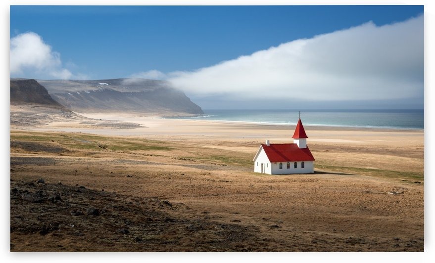 Lonely church by 1x