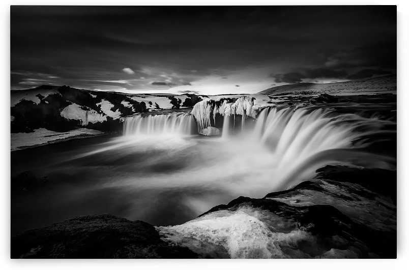 waterfall of the gods by 1x