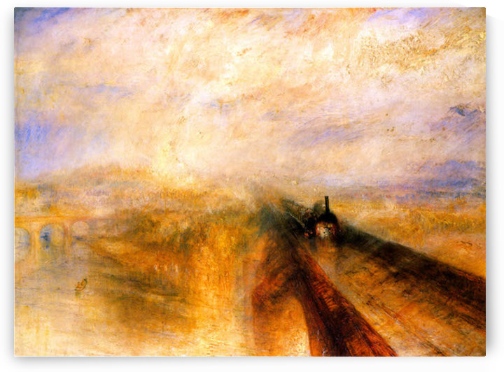 Rain Steam and Speed the Great Western Railway by Turner by Turner