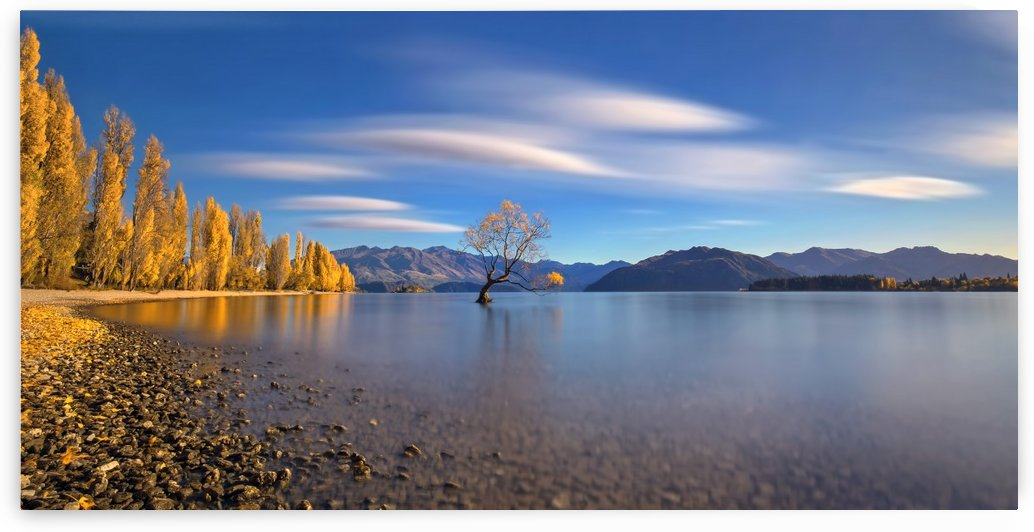 Autumn in Lake Wanaka by 1x