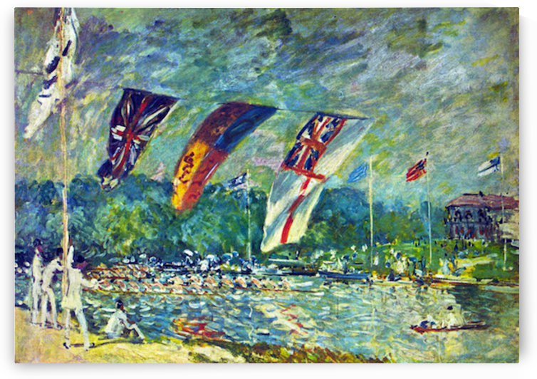 Regatta in Molesly Sisley by