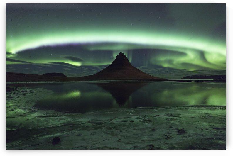 Kirkjufell Aurora by 1x
