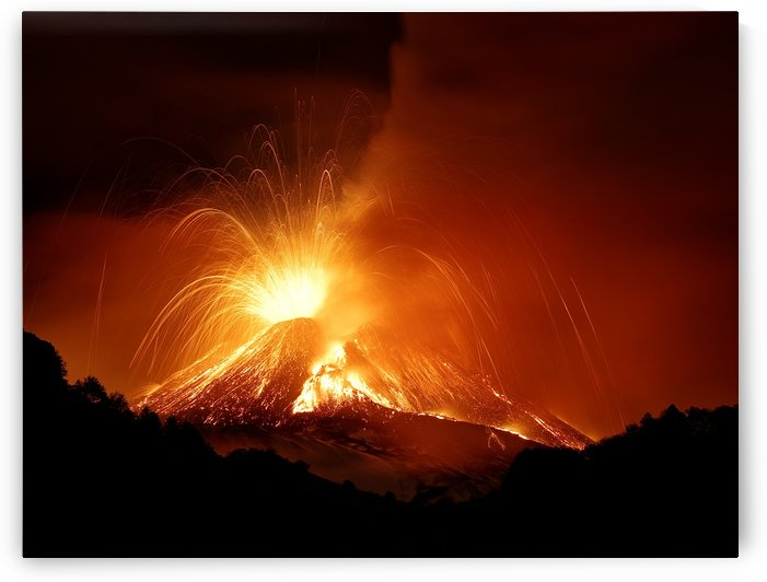 Monte Etna by 1x