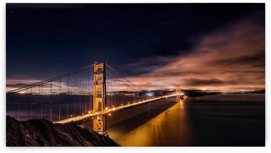 Golden Gate to Stars by 1x