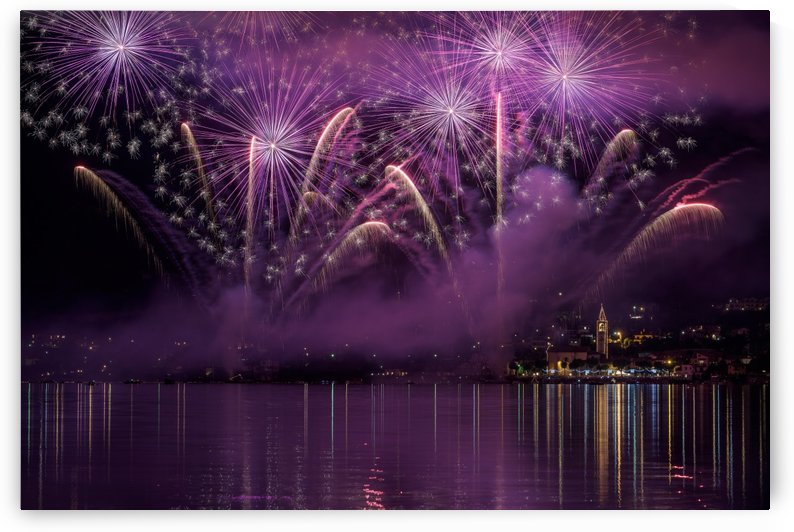 Fireworks Lake Pusiano by 1x