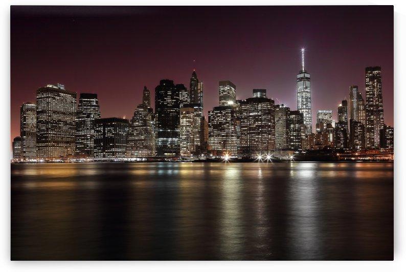 NYC Skyline by 1x