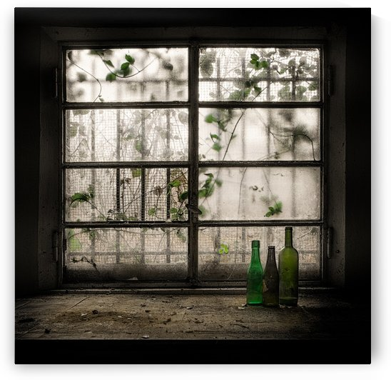 Still-Life with glass bottle by 1x