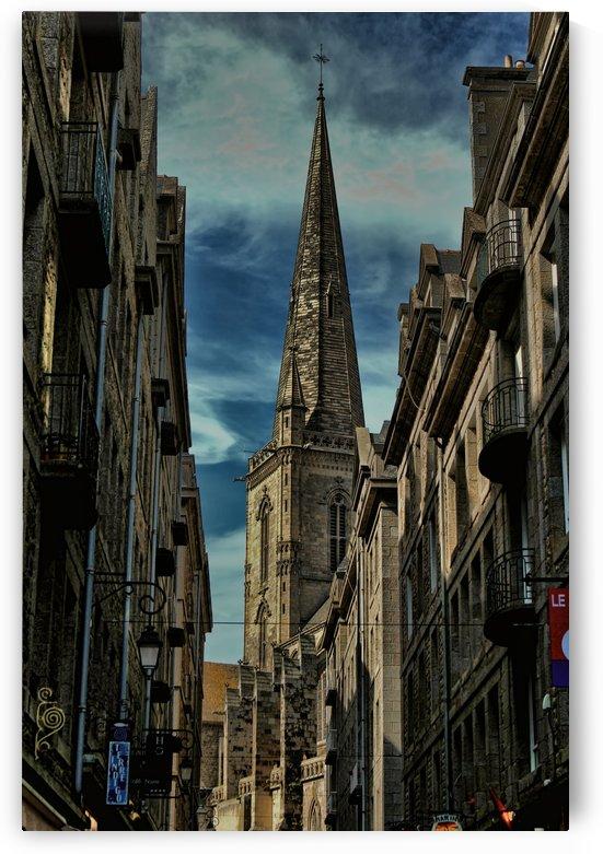Saint-Vincent-de-Saragosse de Saint-Malo) by tom Prendergast