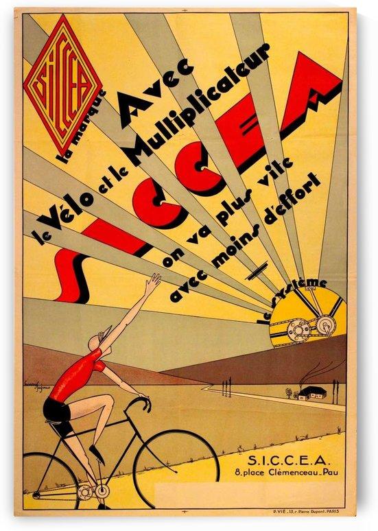 SICCEA original vintage poster by VINTAGE POSTER