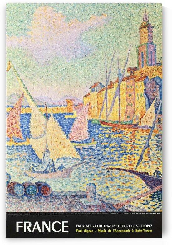 Provence Cote DAzur Original France Travel Poster by VINTAGE POSTER
