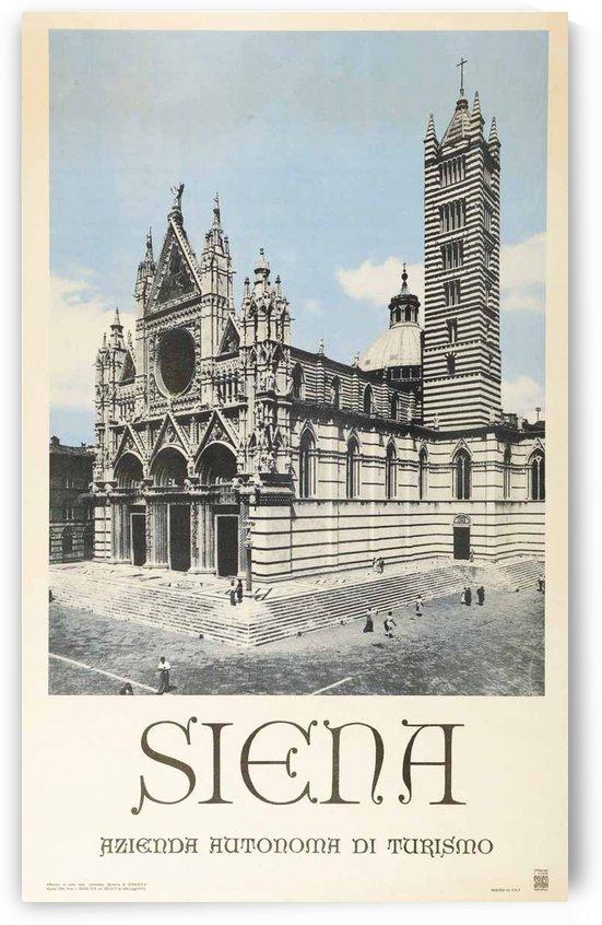 Siena original travel poster by VINTAGE POSTER