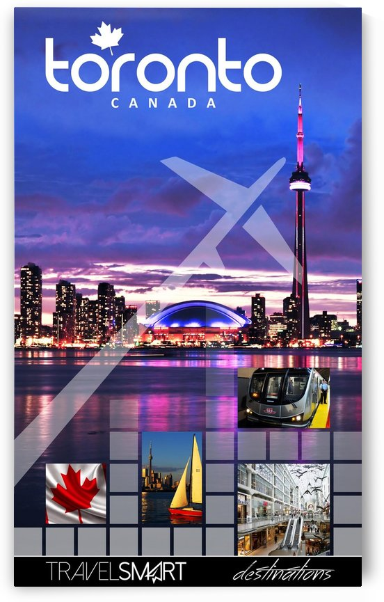 Toronto Canada vintage poster by VINTAGE POSTER