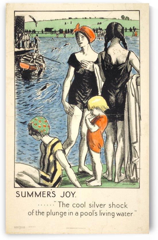 Summer Joy by VINTAGE POSTER