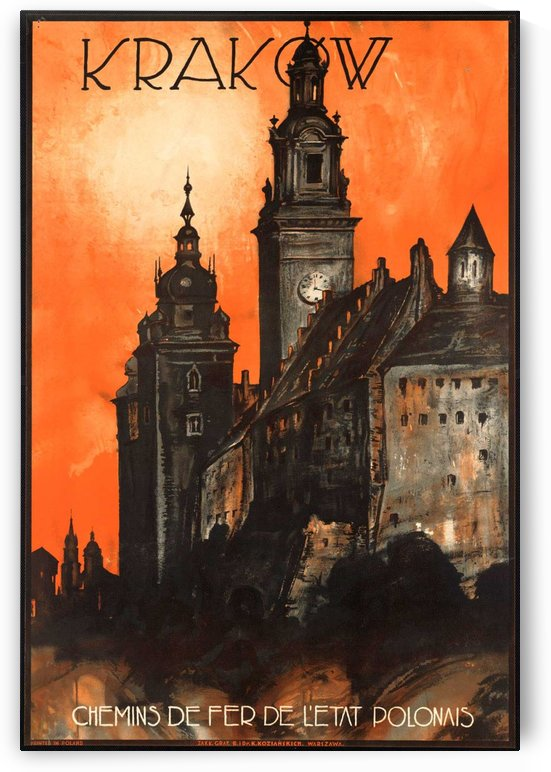Krakow by VINTAGE POSTER