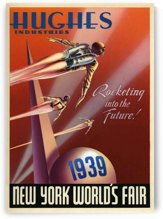 New York World Fair 1939 poster by VINTAGE POSTER