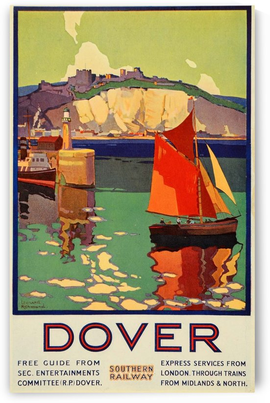Dover Southern Railway by VINTAGE POSTER