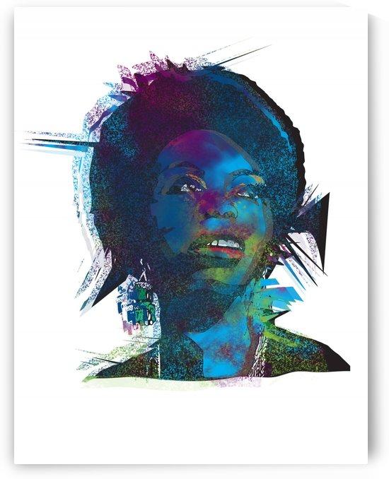 Nina Simon Art  by Geena Belony