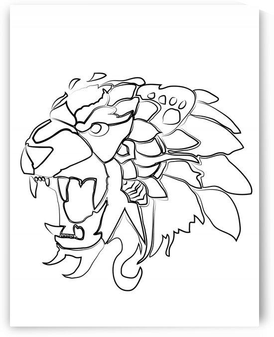 lion2 01 by Geena Belony