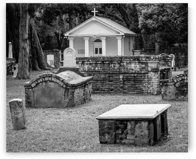 Tolomato Cemetery by Melody Rossi