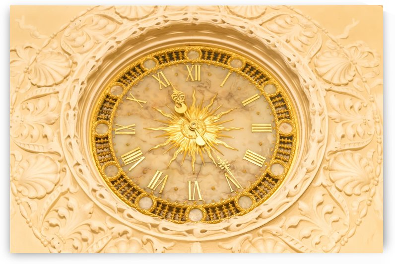 Grand Parlor Clock  by Melody Rossi