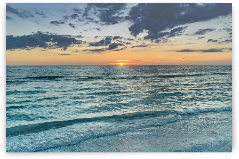 Pass A Grille Summer Sunset by Melody Rossi