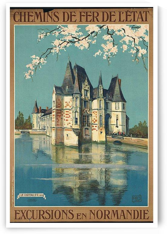 Excursions en Normandie by VINTAGE POSTER
