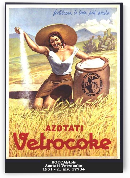 Azotati Vetrocoke by VINTAGE POSTER