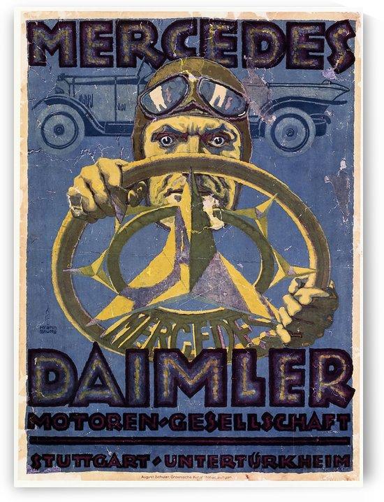 Mercedes Daimler by VINTAGE POSTER