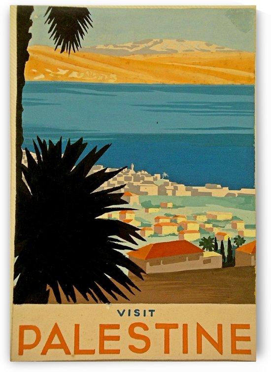 Visit Palestine by VINTAGE POSTER