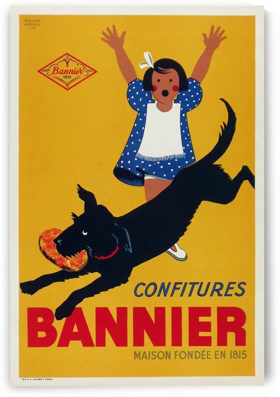 Confitures Bannier by VINTAGE POSTER