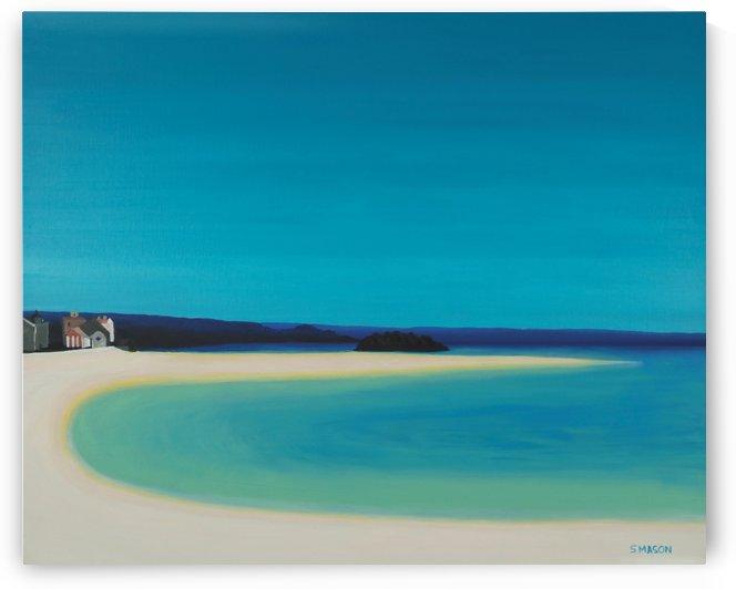 Marizion Beach. by simon mason
