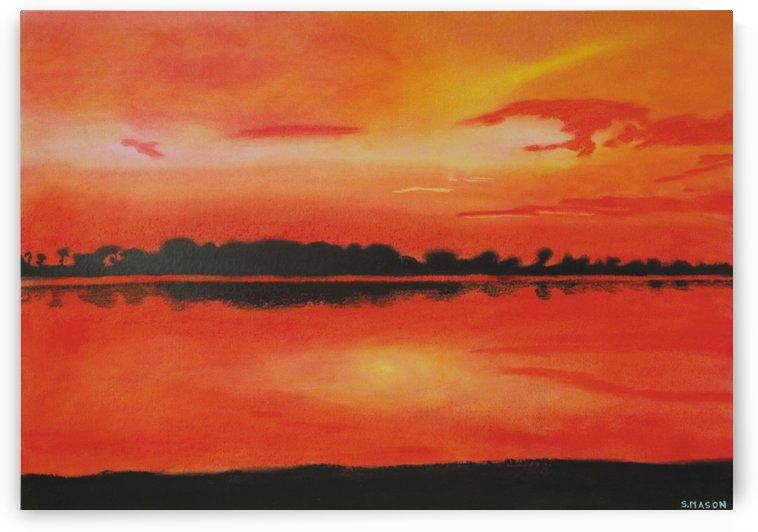 Red sky at night. by simon mason