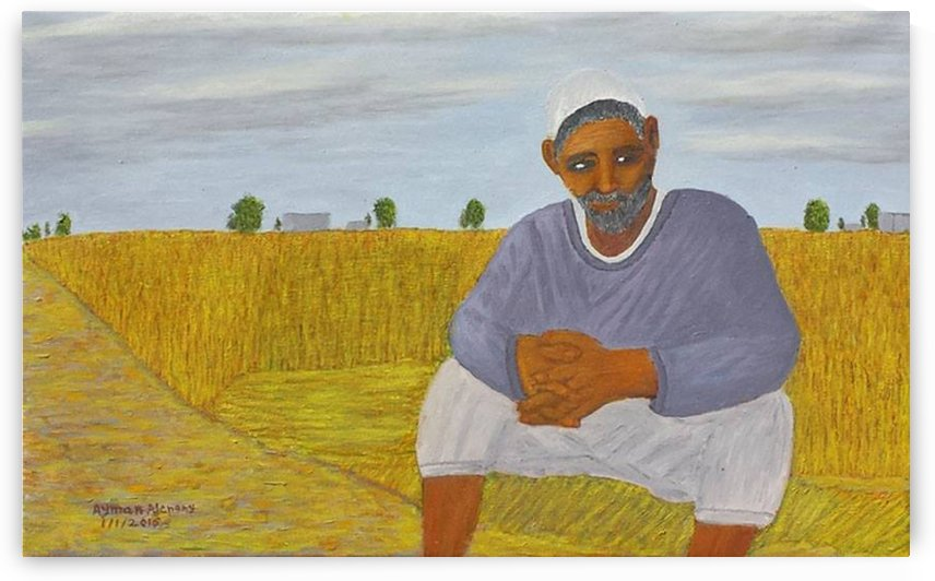The wheat farmer by Ayman Alenany