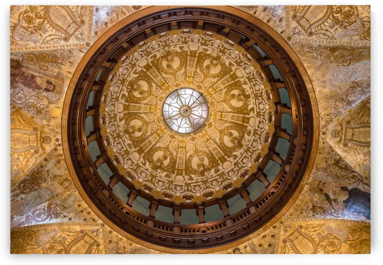 Parlor Dome Ceiling by Melody Rossi