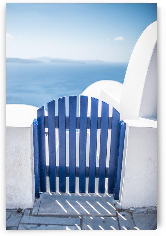 Blue door by Fabien Dormoy